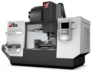 HAAS 7 axis CNC milling machine