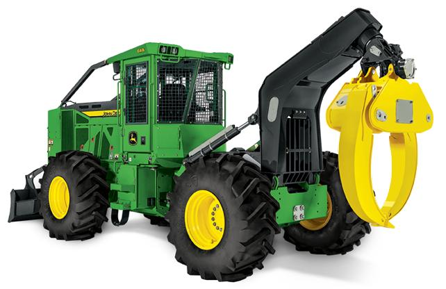 JOHN DEERE 648L Grapple Skidder