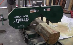 portable bandsaw mill