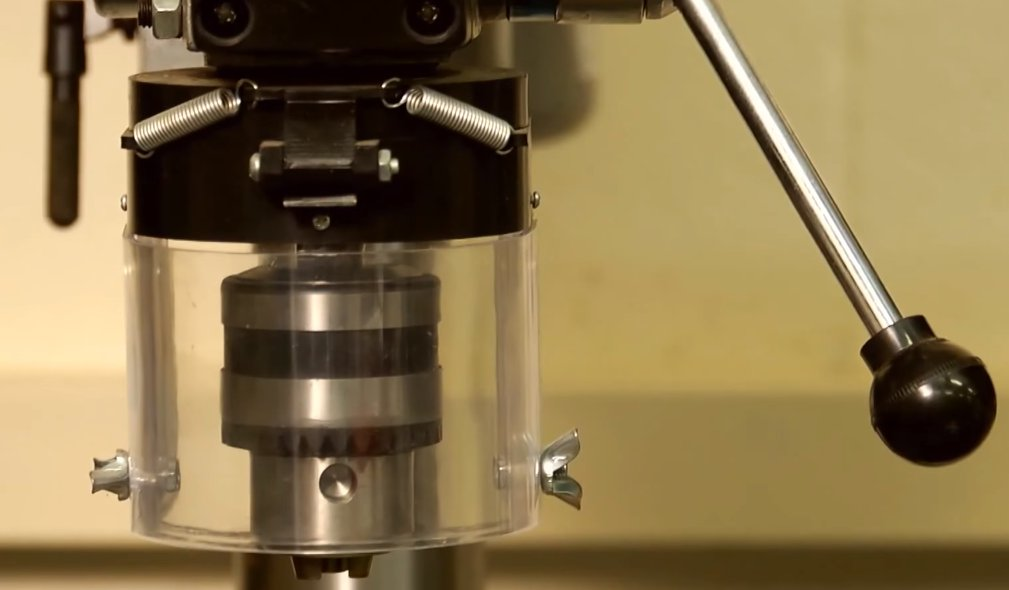 bench drill press drill head