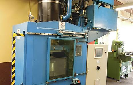 WOLFF HEP 400 Hydraulic Embossing Press