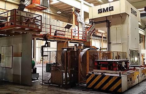 SMG HZPU-T 500-2250/1300 Hydraulic Press