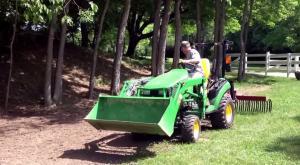 utility tractor rake