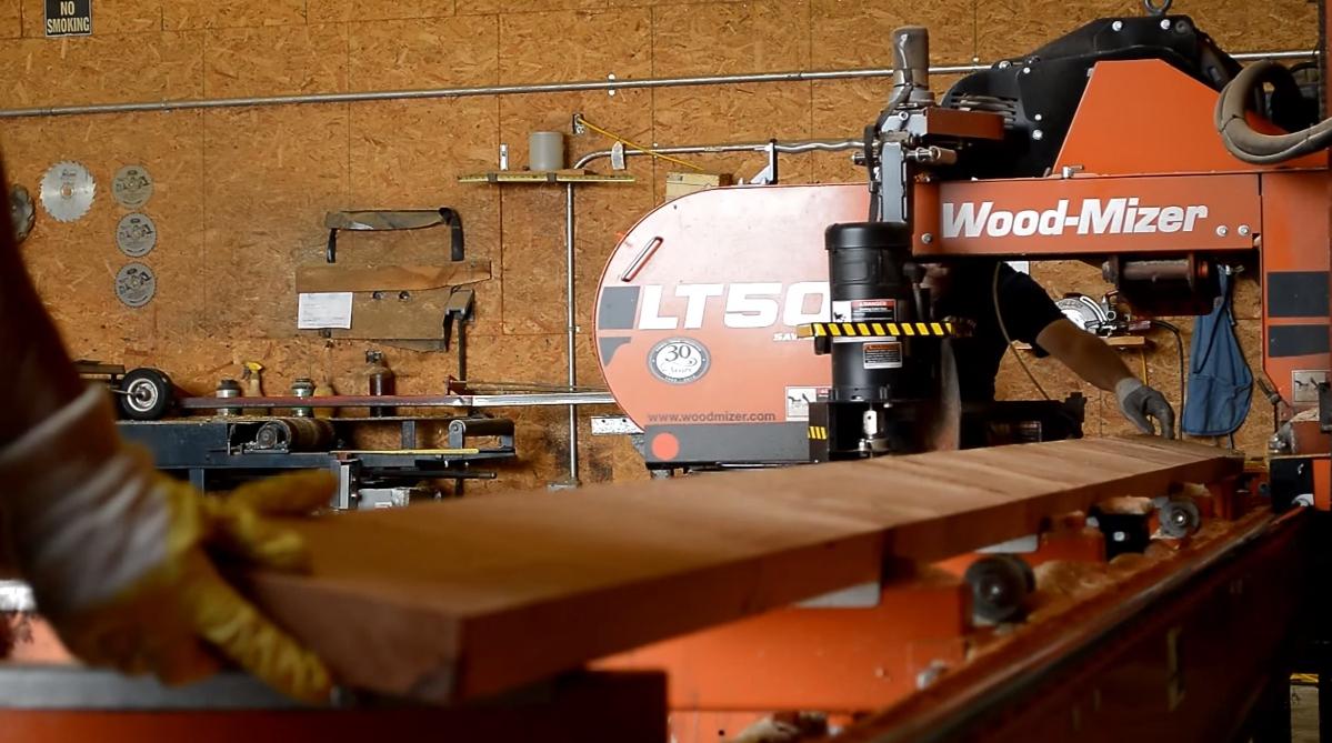 wood-mizer lt50 bandsaw
