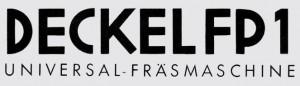 milling machine Deckel-FP1