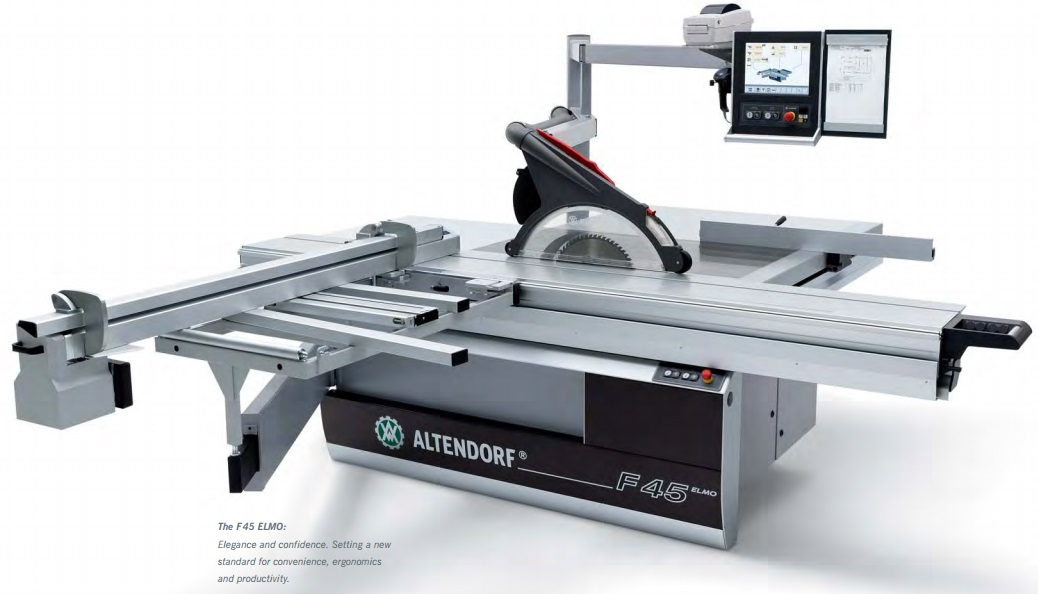 Used altendorf f45elmo sliding table saw Used table saw