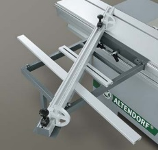 Altendorf WA 6 Crosscut-mitre fence