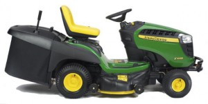 John-Deere X155R Mower Side