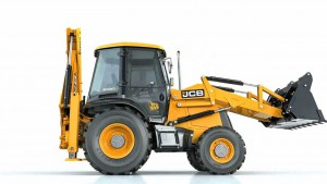 Side view JCB  CX3