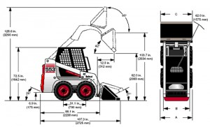 specs bobcat 553 300x182 used bobcat 553 for sale Bobcat 873 Wiring Harness Diagram at aneh.co