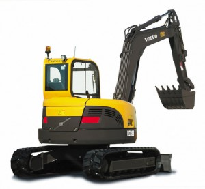 VOLVO ECR88 midi excavator
