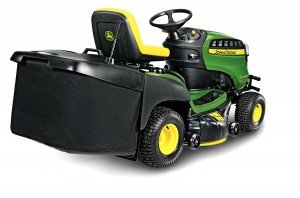 John Deere X155R Mower Back