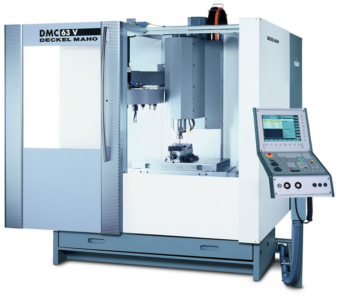 Used deckel maho dmc63v cnc milling machines for sale for Deckel maho geretsried
