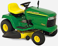John Deere LT155 Sit-on Mower