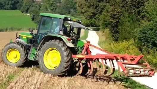 6300 John Deere with Rototiller