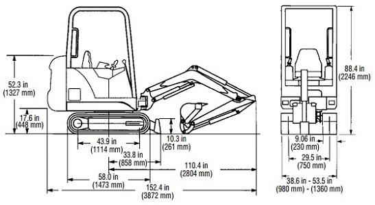 bobcat t250 engine diagram