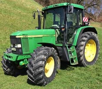Row-Crop Tractor John Deere 6610