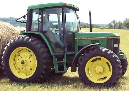 Used John Deere 6400 Utility Tractor