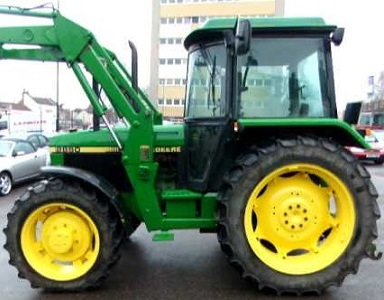 Used John Deere 2850 with Loader