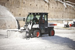 Snow blower attachment for the BOBCAT ToolCat 5600