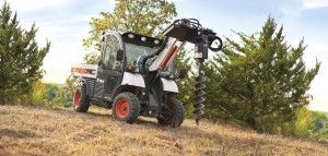 BOBCAT ToolCat 5600 ground drill attachment