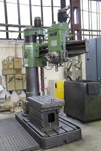 Radialbohrmaschine in Reperaturwekstatt
