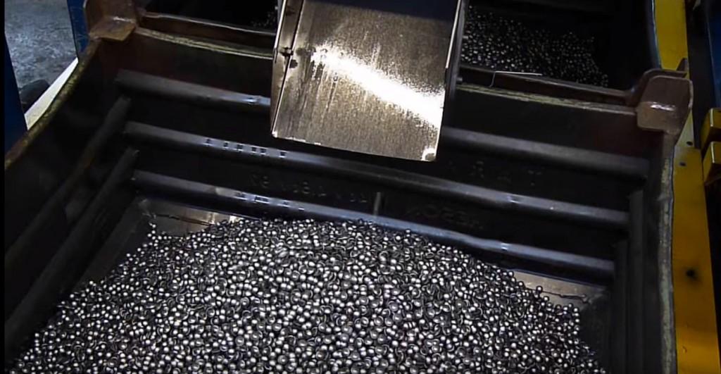 Ausgestanztes Produkt aus Metall