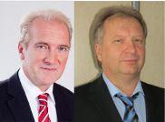 Andreas Roucka (l) & Klaus Schuster bilden die Geschäftsführeung bei RS Auktionen