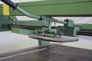 Schleifschuh der Langbandschleifmaschine