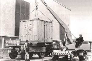 LIEBHERR´s erster Mobilkran aus dem Jahr 1969