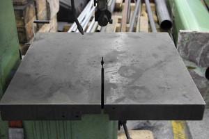 vertikal bandsäge tisch