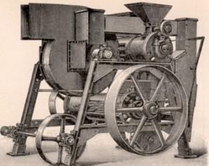 alte-Lebensmittelbearbeitungsmaschine