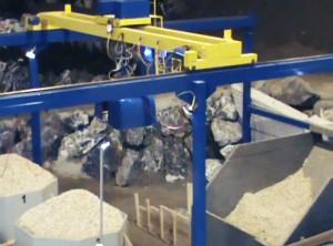 Portalkran im Bergbau