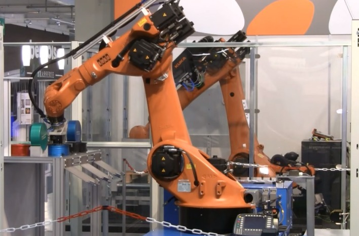 Mobiler-Industrieroboter