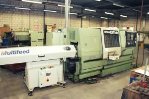 gebrauchte CNC Drehmaschine OKUMA