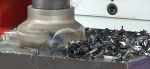 Fräsmaschine im Einsatz