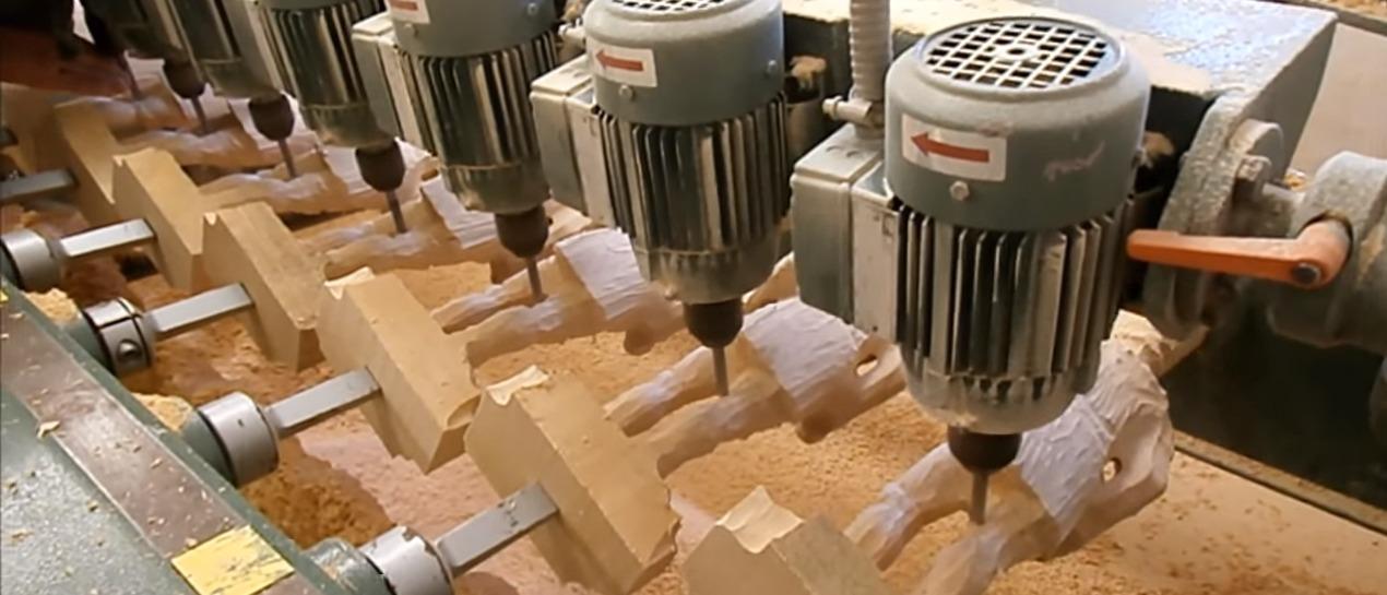 Kopierfräse Holz