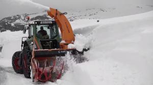 Schneefräse für Traktor