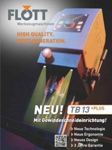PDF Katalog Flott TB13 Tischbohrmaschine