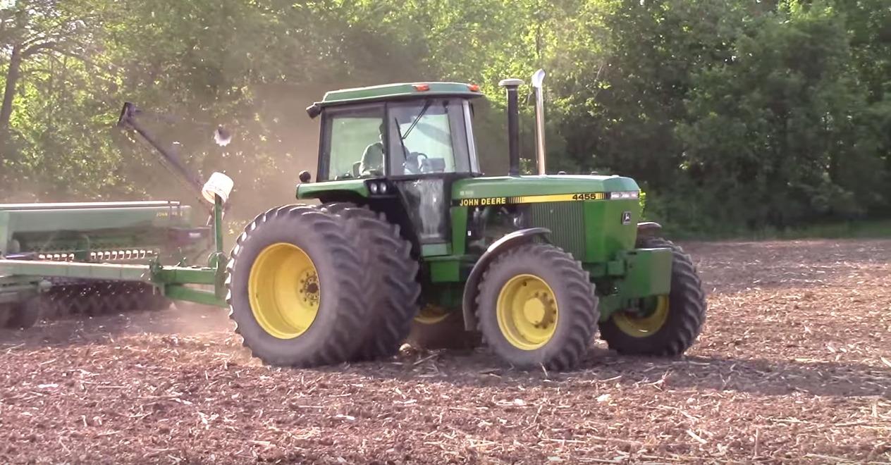 john deere 4455 traktor gebraucht kaufen. Black Bedroom Furniture Sets. Home Design Ideas