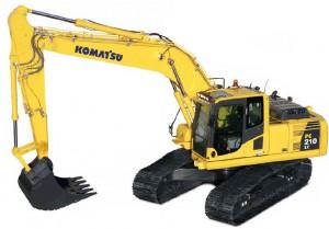 komatsu pc 210 hydraulikbagger