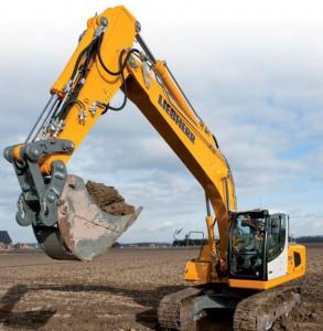 Las excavadoras de segunda mano LIEBHERR son muy populares en subastas dada su gran calidad en fabricación.