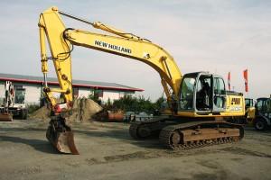 Excavadora New Holland