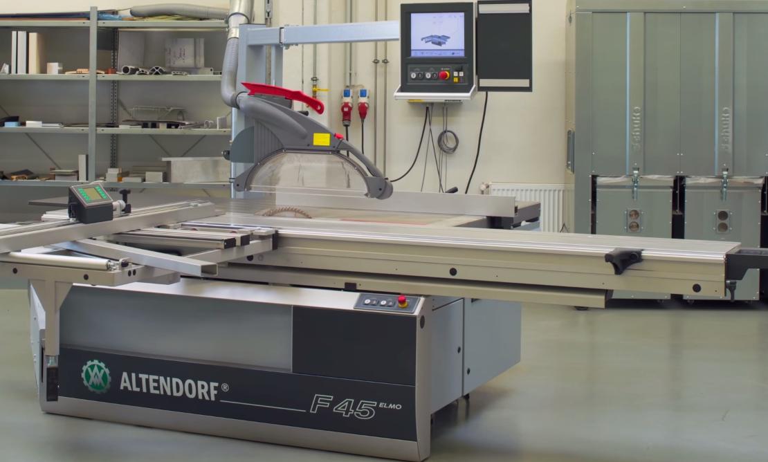 Altendorf 45 sierra de panel